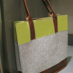 MY FAVORITE BAG: MADE FROM FELT