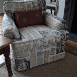 FINALLY: A REUPHOLSTERED CHAIR!
