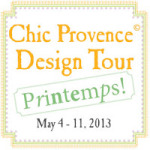 CHIC PROVENCE DESIGN TOUR 2013