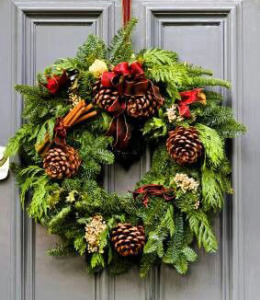 CHRISTMAS HOLIDAY WREATHS