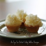 BAKING COCONUT CUPCAKES