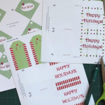 CHRISTMAS GIFT CARD PRINTABLES