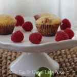 RASPBERRY-LEMON CORN MUFFINS