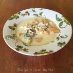 CREAMY CHICKEN SOUP WITH AUTUMN VEGETABLES